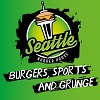 Logotipo - Seattle Burger House 'Burger, Sports and Grunge'